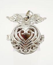 Thai amulets Lookaom pendant Lucky Fortune Kruba Chaiya Pakpee Locket charm