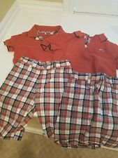 Two, Yes Two, Adorable, Janie & Jack 3T Twin Boys Shorts & Shirts Sets, Worn 1 X