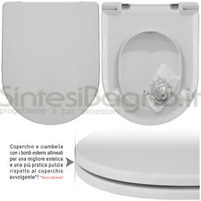 WC Seat SintesiBagno MADE for Flaminia WC LINK/LINK suspended. ICIEU700