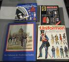 4 interessante Bücher über alte und neuere Uniformen