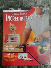Disney Incredibles 2 4K Uhd+Blu-ray+Digital Target Exclusive New!