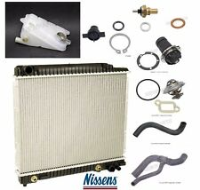 Mercedes W123 W126 Radiator Kit with Sensor Thermostat Water Pump & Exp Tank Kit