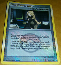 POKEMON LEAGUE PROMO CRD -SUPREME VICTORS -CYNTHIA'S GUIDANCE 136/147 (REV HOLO)