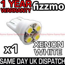 4 LED 501 T10 W5W WEDGE HID XENON WHITE SIDE LIGHT BULB