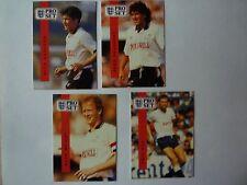 English Premier League 1990-1991 Pro Set - Derby County Team Set (lot of 8)