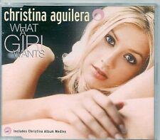 MAXI CD 3 TITRES--CHRISTINA AGUILERA--WHAT A GIRL WANTS