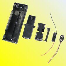 AAA/AA/C/D/9V/N Compartiment Pour Piles à Clipser Connecteur Joint Ouvert