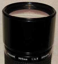 300mm NIKKOR f/4.5 AIS, for astronomical use, very lightly used, condition 99%