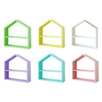 Wood House Ornament Cupcake Stand Nordic Wedding Props Wood Cake Stand X1I3