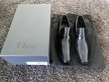 Dior Homme Braided Loafers Dress Shoes Black - EU 41 / US 8 - NIB - Slimane
