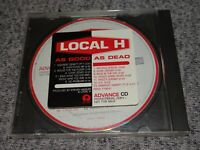 LOCAL H As Good As Dead RARE Advance PROMO CD 1996 U.S. Scott Lucas PRCD 7189-2