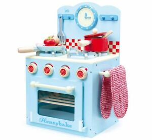 Le Toy Van Oven And Hob Set Blue