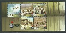 AUSTRALIA 2017 CENTENARY OF WORLD WAR I FINE USED MINIATURE SHEET