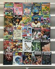 Cartoon Network Jetsons Samurai Jack Dc Idw 25 Lot Comic Book Comics Set Run