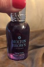 Molton Brown London Ylang-ylang Body Wash Deluxe Travel Sample Size 1.7 Oz New