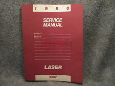 1990 Plymouth Laser Service Manual Volume 2 Electrical 81-270-0176 Guide Y431