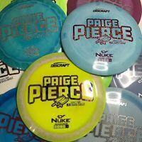 Discraft Paige Pierce FIRST RUN NUKE ESP Driver JPDISCS