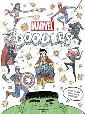 NEW FIRST EDITION Doodle Book : Marvel Doodles (2016, Paperback)