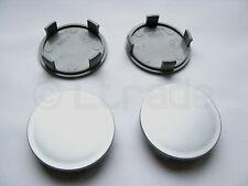 4x Nabenkappen Felgendeckel Nabendeckel Ø 56mm-52mm Silber Felgenkappen NEU