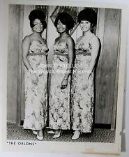 ORIGINAL 1960's 8x10 Publicity Photo The Orlons Soul