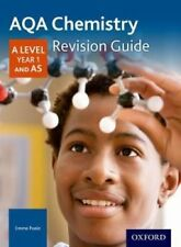 AQA A Level Chemistry Year 1 Revision Guide by Emma Poole 9780198351832