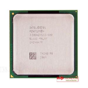 Intel Pentium 4 HT SL6WG Processor 3.2 GHz/800 MHz Socket 478/N CPU 82W