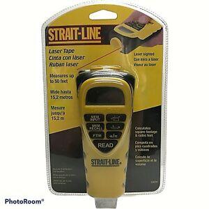Strait-Line Laser Digital Electronic Tape Ruler Measuring Device