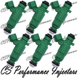 6x OEM Fuel Injectors for 2001-2006 Hyundai Santa Fe 2.7L V6 2002 2003 2004 2005