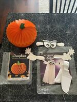 Vintage Eureka And Beistle Pop Out halloween decorations, Art Tissue Paper