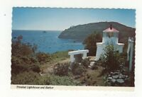 Trinidad Lighthouse & Harbor Eureka California USA  Postcard US139
