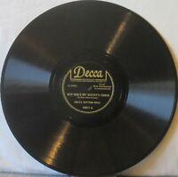 """DELTA RHYTHM BOYS But She's My Buddy's Chick/Walk It Off 10"""" Shellac 78 rpm –R&B"""