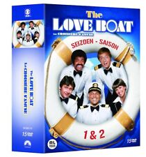 THE LOVE BOAT  - SEASON 1 & 2   -  DVD - PAL Region 2 - Sealed