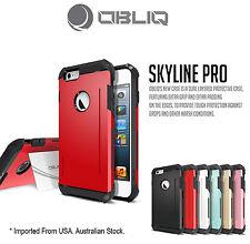 Genuine Obliq Bumper Shock Scratch Resist Armor case cover iphone 6 4.7 Red