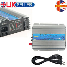 500W Grid Tie Inverter DC22V-60V 230V MPP Sine Wave Inverter 50Hz/60Hz From UK