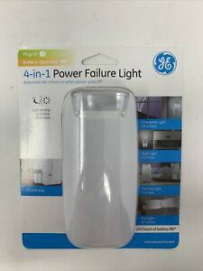 GE 37373 4-in-1 Power-Failure Light Battery Operated Light Sensing Dusk To Dawn
