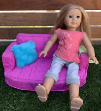 American Girl 2015 Comfy Couch & Accessories-Retired