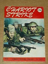 COMBAT PICTURE LIBRARY #1109 BRITISH POCKET WAR COMIC CHARIOT STRIKE