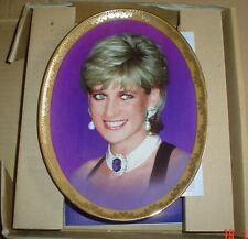 Davenport Pottery Ltd Collectors Plate SHE BRIGHTEND OUR LIVES PRINCESS DIANA