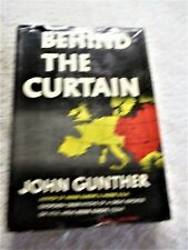 "1948/49, "" Behind The Curtain"". John Gunther"