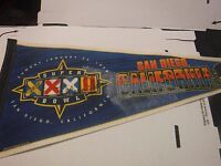 Miami Dolphins Autographed Signed Super Bowl Pennant Morris Yepremian jh