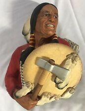 "1967 BOSSONS England - Cheyenne Native American Warrior - 10"" x 8"" PERFECT"