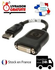 CABLE CORDON ADAPTATEUR VIDEO HP DISPLAYPORT MALE / DVI-D 24+1 DUAL LINK FEMELLE