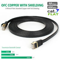 Cat 7 ethernet cable 6-25 ft Wireless Outdoor for Gaming,MAC,Desktop,ADSL,LAN