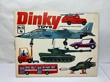 Dinky Toys Catalogue No 10 - Near Mint Old Shop Stock 1974