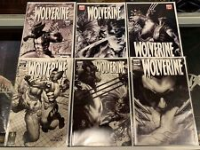Wolverine (2003) #51 52 53 54 54 50-55 B&W Variant Cover Set Vf/Nm