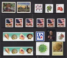 US 2017 NH DEFINITIVE YEAR SET with COIL Singles 24 Stamps - Free USA Ship