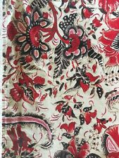 Pottery Barn Table Runner Red Floral 18x108 inches, EUC
