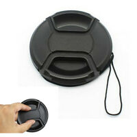 Sale 49mm Front Lens Cap Snap-on Cover for Canon Nikon Sony Camera w/String
