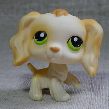 "LPS #347 Action Figure gift Green Eyes Cocker DOG RARE TOY 2"" LITTLEST PET SHOP"