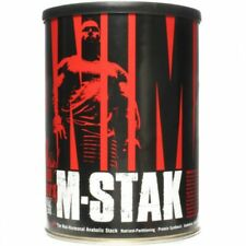 UNIVERSAL NUTRITION ANIMAL M-STAK-Lean Muscle Gain, Pure Muscle Mass, Strenth